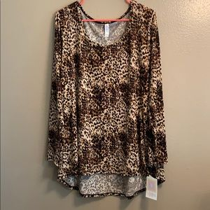 LuLaRoe Animal Print Lynnae
